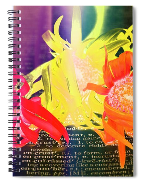 Sentiment Defined Spiral Notebook