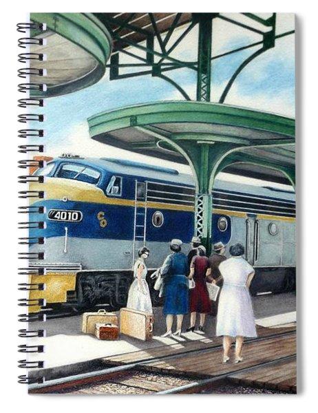 Sentimental Journey Spiral Notebook