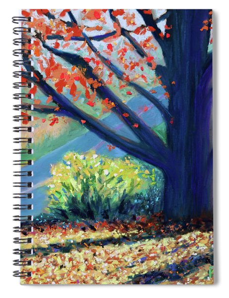 Sentinel By The Road Spiral Notebook