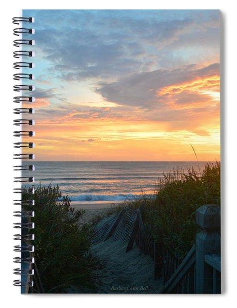 September 28, 2018 Sunrise Nh  Spiral Notebook