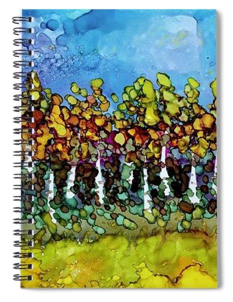September Aspens Spiral Notebook