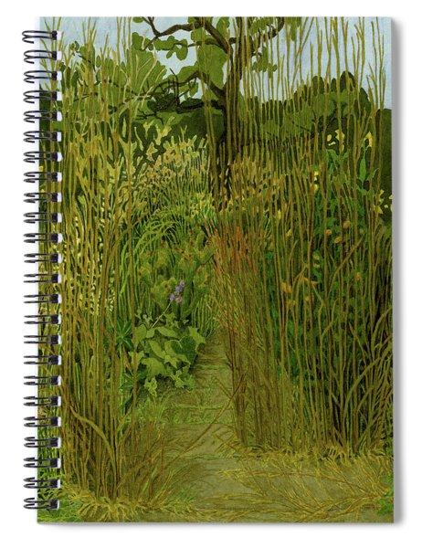 September Grasses I Spiral Notebook
