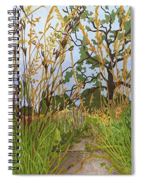 September Grasses II Spiral Notebook