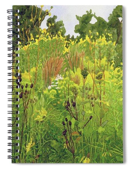 September Grasses IIi Spiral Notebook