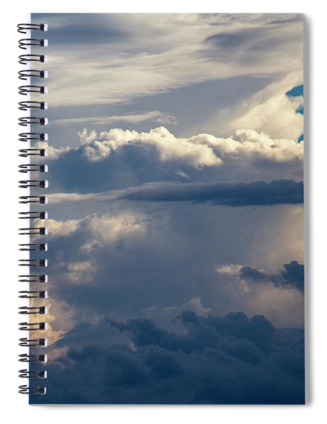 Spiral Notebook featuring the photograph September Storm Chasing 015 by NebraskaSC