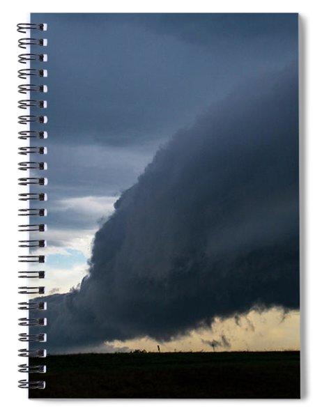 September Thunderstorms 003 Spiral Notebook