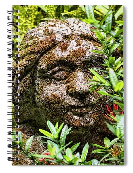 Serene Goddess Spiral Notebook