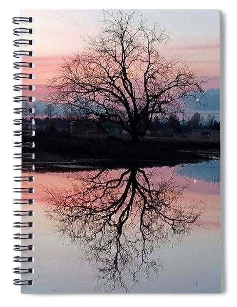 Serenity At Sunset Spiral Notebook