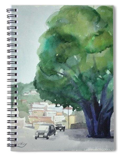Sersale Tree Spiral Notebook