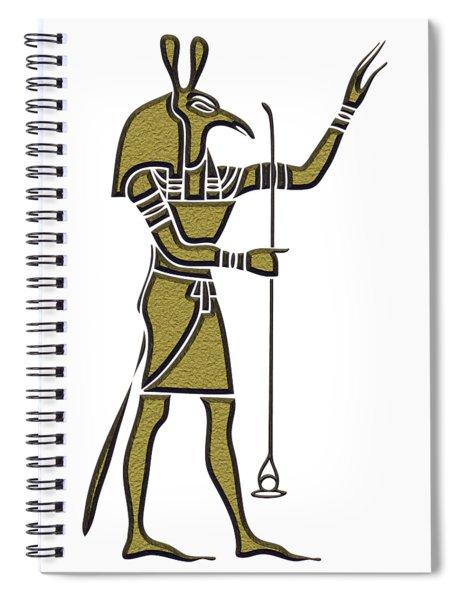 Set - God Of Ancient Egypt Spiral Notebook