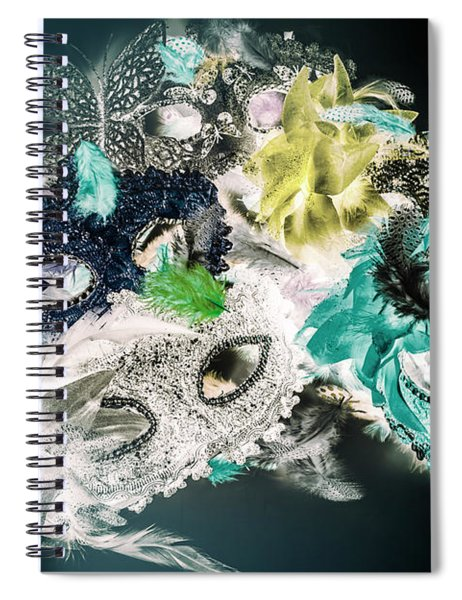 Setting The Drama Spiral Notebook