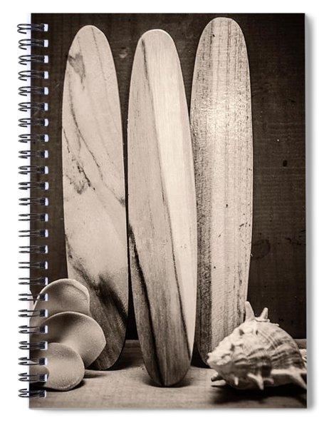 Seventies Surfing Spiral Notebook