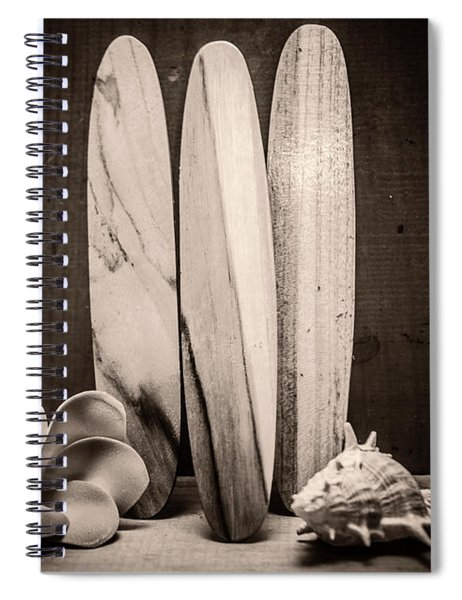 Seventies Surfing Spiral Notebook