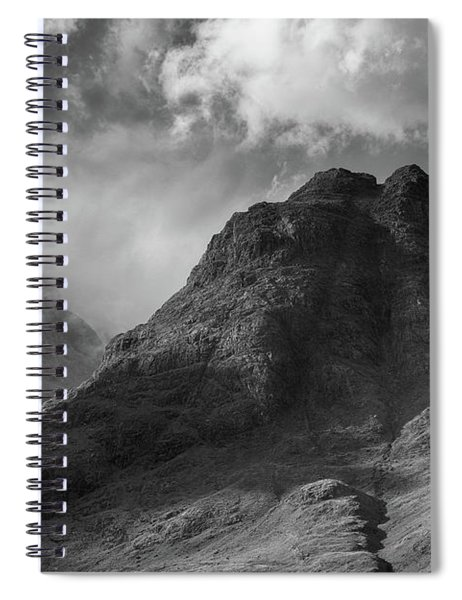 Sgurr Na Stri Spiral Notebook
