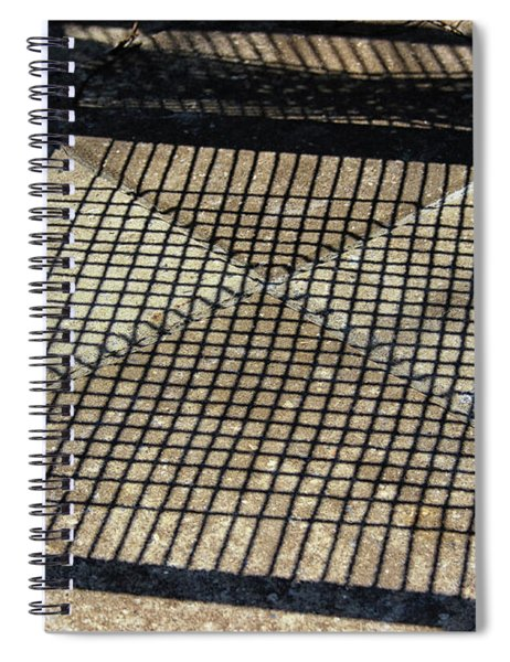 Shadow Geometry Spiral Notebook