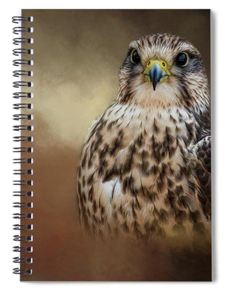 Shadow Hunter Spiral Notebook