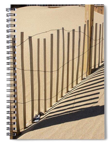 Shadowy Design Spiral Notebook