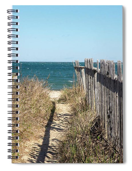 Shadowy Fence Spiral Notebook