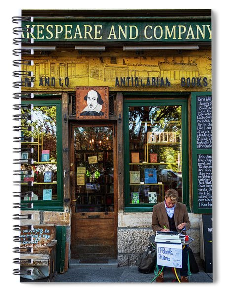 Shakespeare And Company Bookstore Spiral Notebook