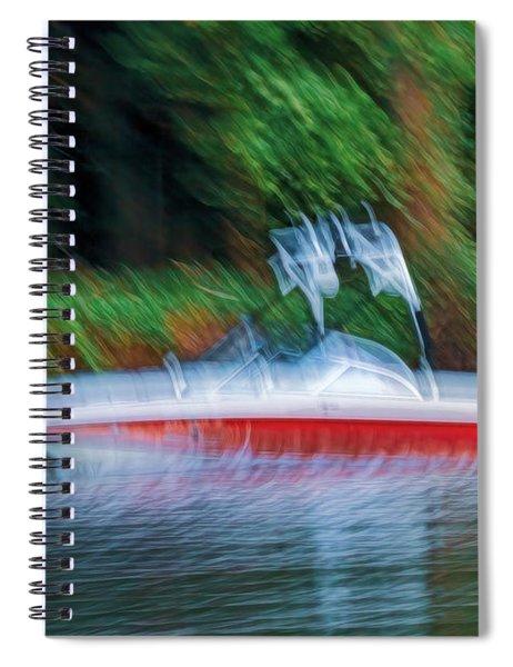 Shakey Ride Spiral Notebook