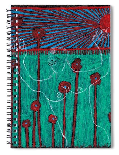 Shanghai Gardens 6 Spiral Notebook