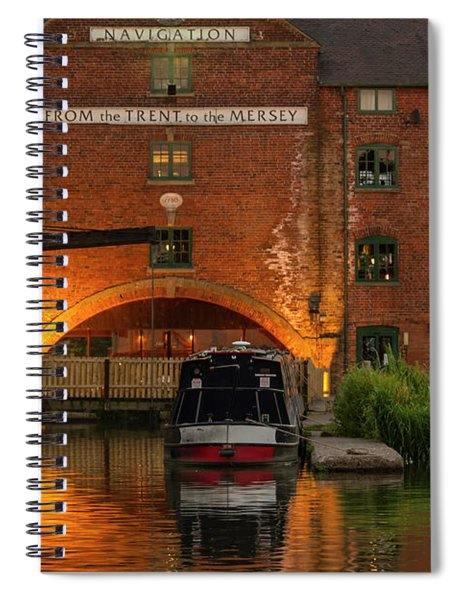Shardlow Wharf Spiral Notebook
