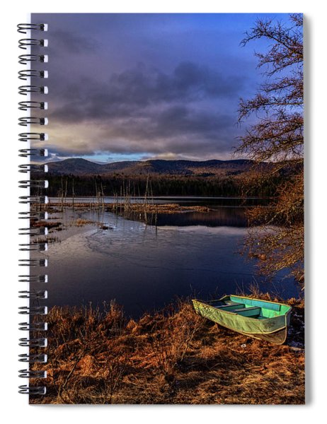Spiral Notebook featuring the photograph Shaw Pond Sunrise - Landscape by Rod Best