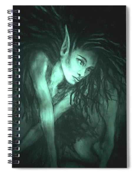 She Indwells Through The Shades Of Night Spiral Notebook