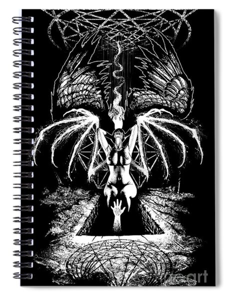 She Will Know The Silence  Spiral Notebook