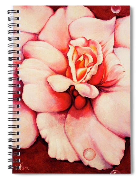 Sheer Bliss Spiral Notebook