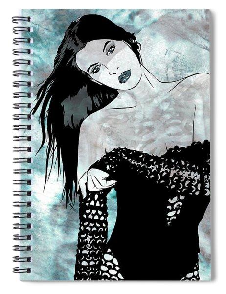 Sheer Spiral Notebook