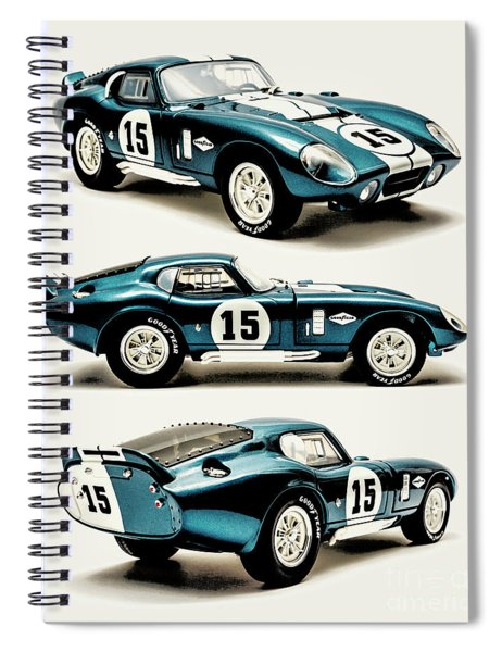 Shelby Cobra Daytona Spiral Notebook