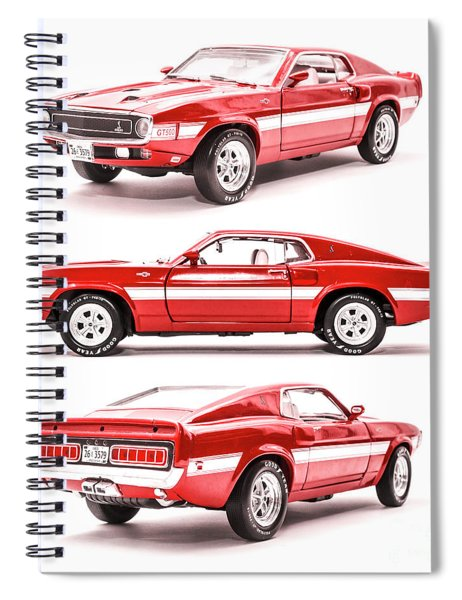 Shelby Gt500  Spiral Notebook
