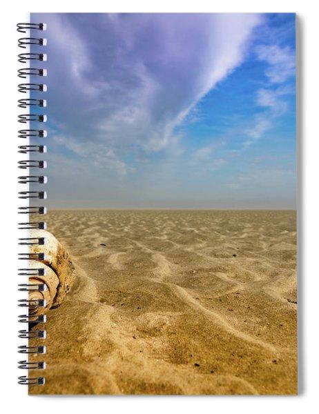 Shell At Hunting Island Spiral Notebook