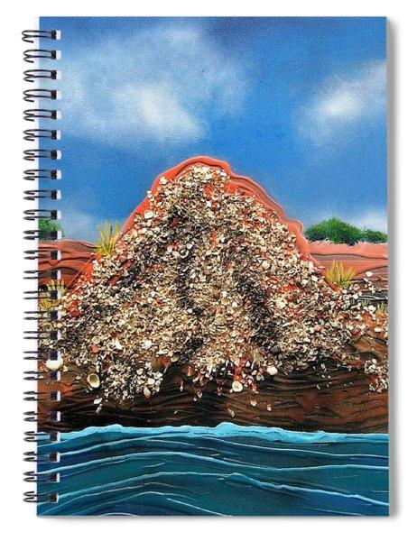 Shell Mound Spiral Notebook