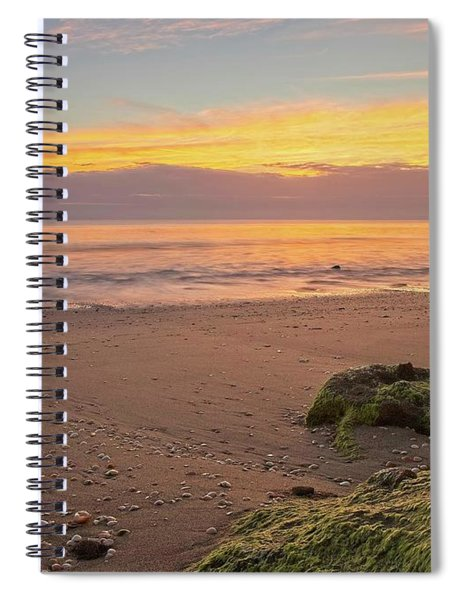 Shells On The Beach Spiral Notebook