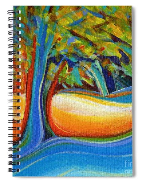 Shimmering Whispers Spiral Notebook