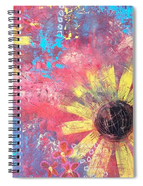 Shine From Within Spiral Notebook