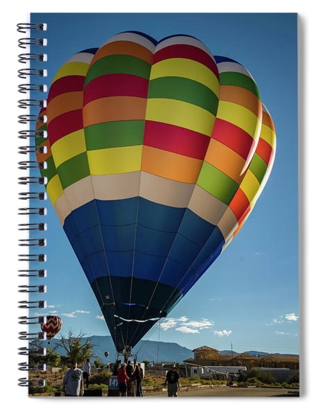 Shining Light Spiral Notebook