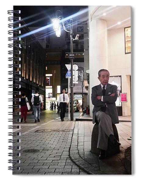 Shinjuku Man Spiral Notebook