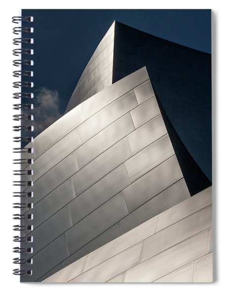 Shiny Curves Spiral Notebook