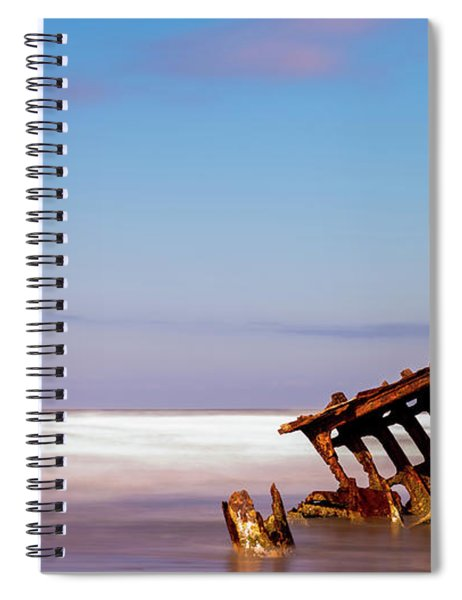 Ship Wreck Spiral Notebook