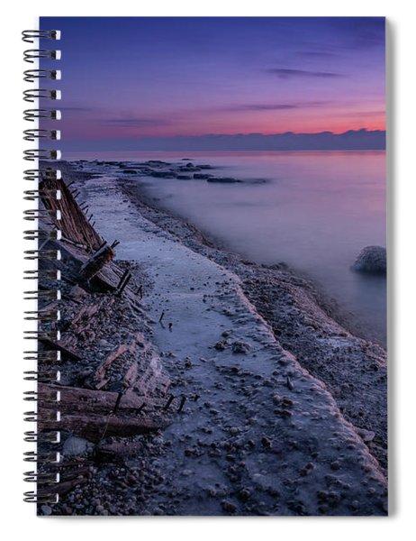 Shipwrecked Spiral Notebook