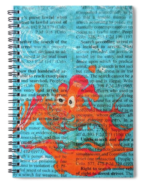 Shock And Awe  Spiral Notebook