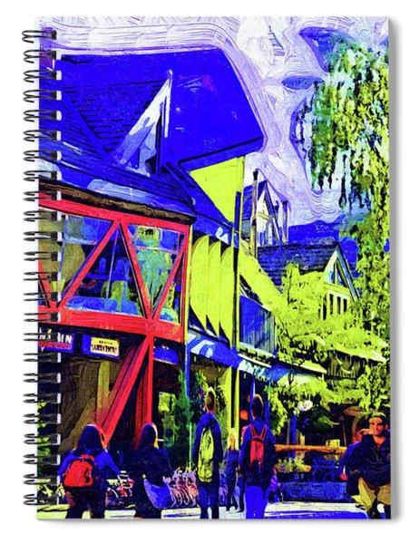 Shopping Whistler Spiral Notebook