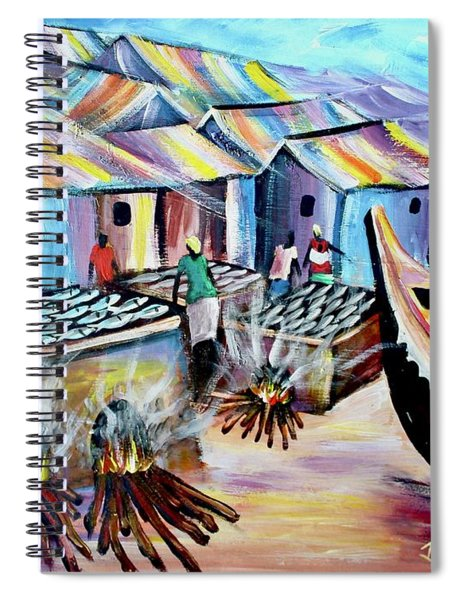 Shore Coast Spiral Notebook