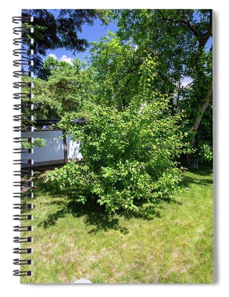 Shrub In The Garden Spiral Notebook
