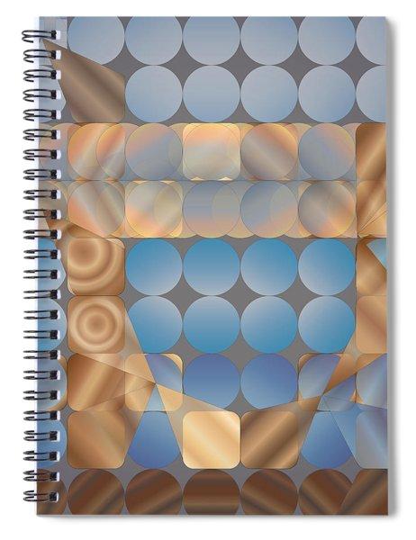 Shuffleblock Spiral Notebook