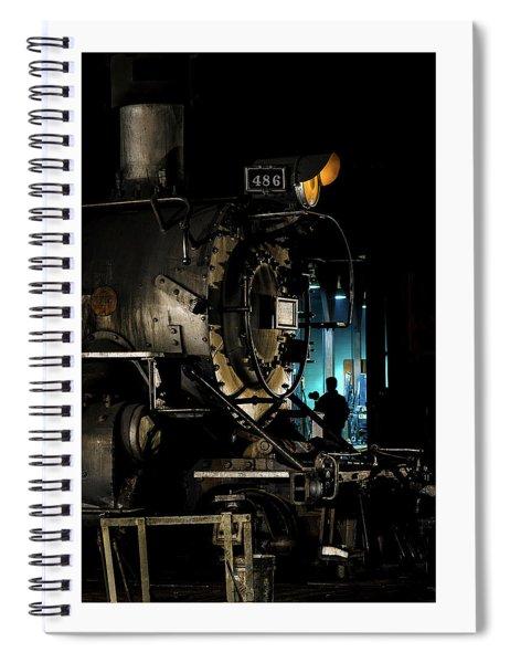 Shutting Down Spiral Notebook