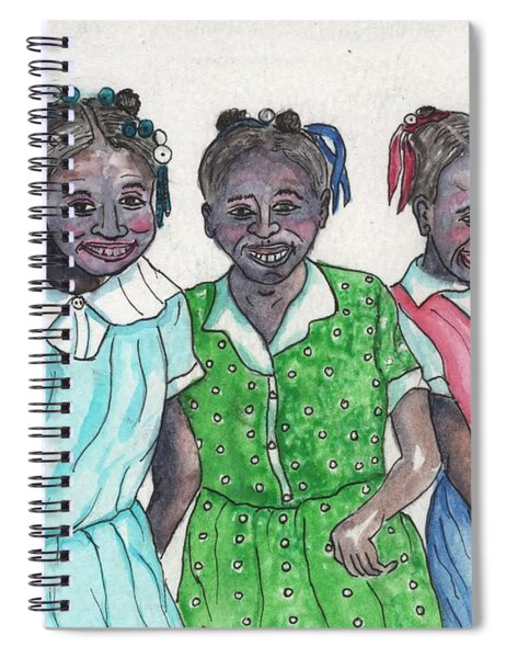 Shy Girls From South Alabama Spiral Notebook